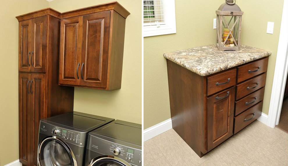 Laundry Cupboards | Century Cabinets in northwest Iowa