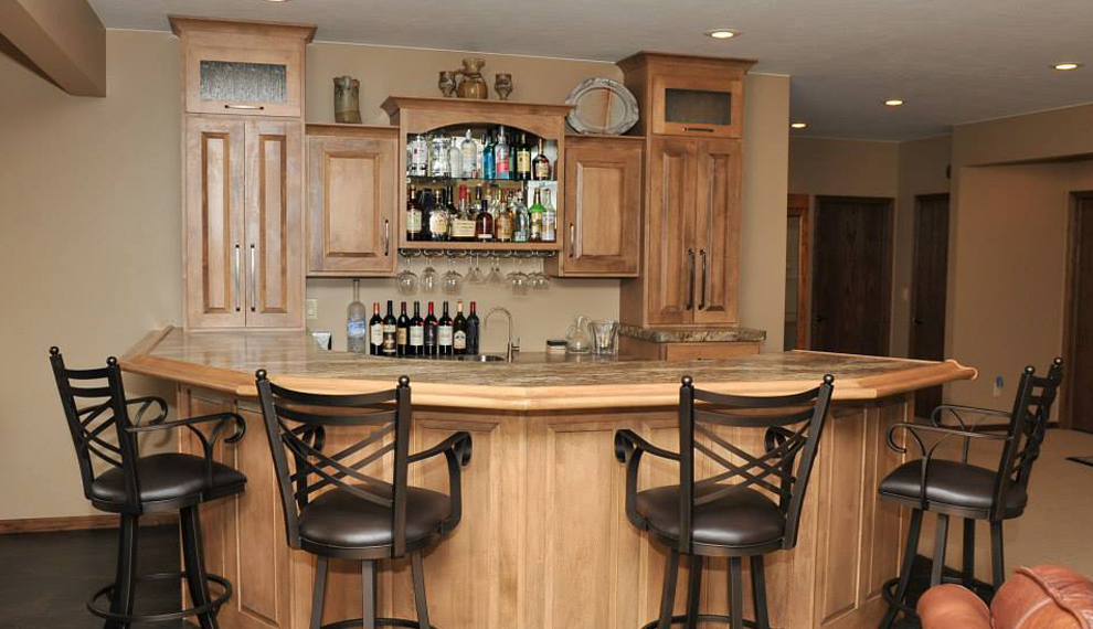 Custom Bar | Century Cabinets in Orange City, Iowa