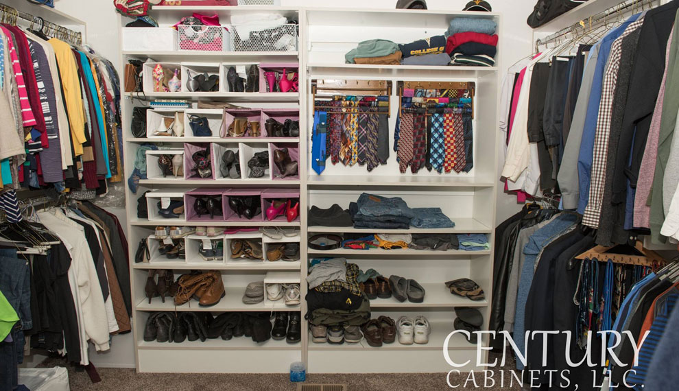 Custom Closets | Century Cabinets in Orange City, IA
