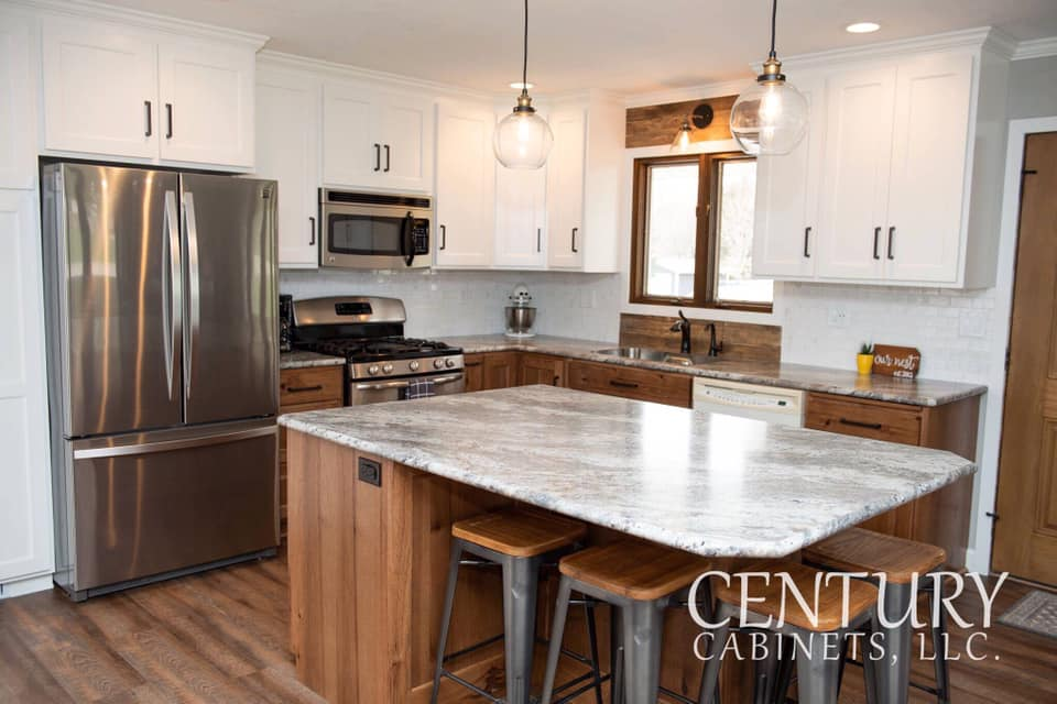 The Perfect Pair Contemporary | Century Cabinets in Orange City, IA