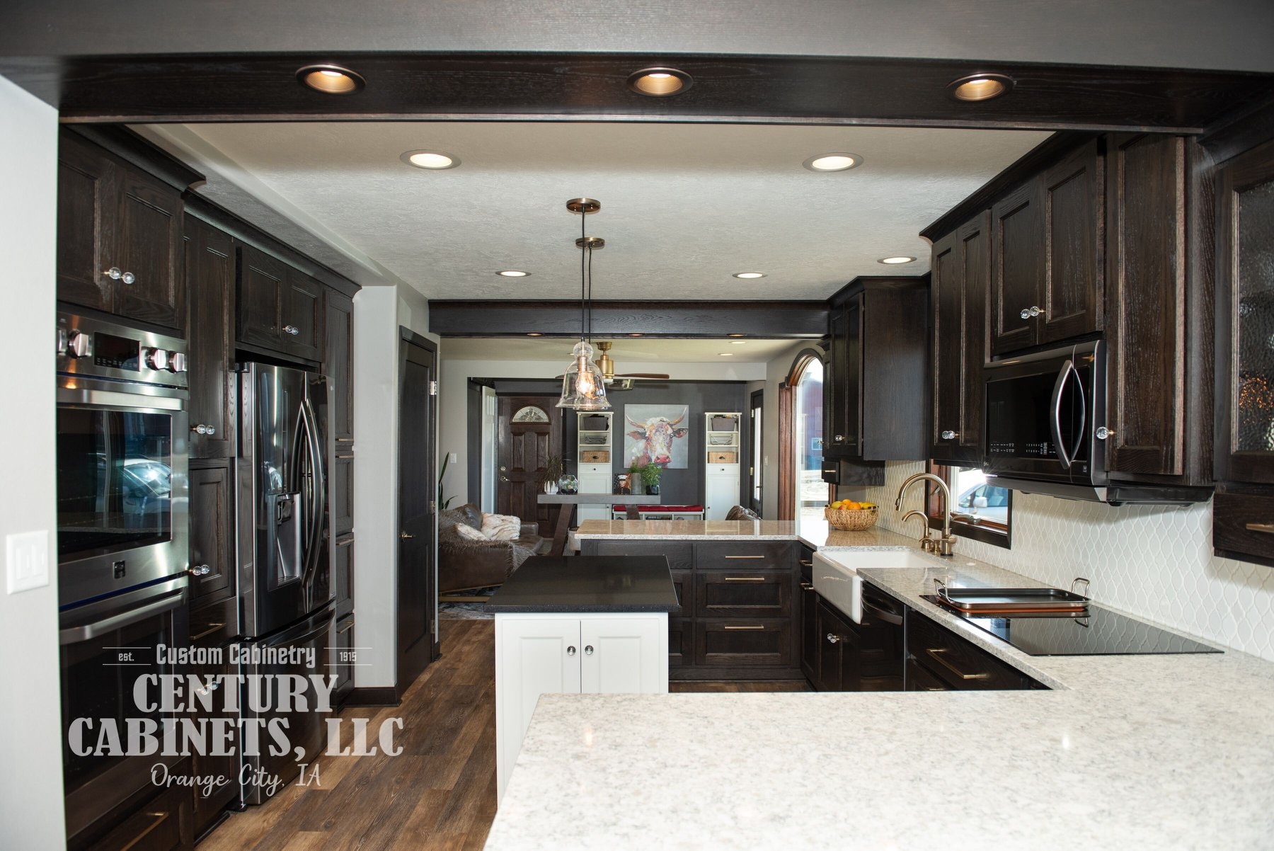Classy Farmhouse | Century Cabinets LLC | Orange City